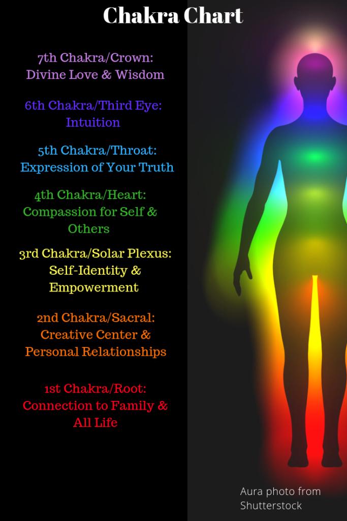 Chakras & Auras in the Human Body